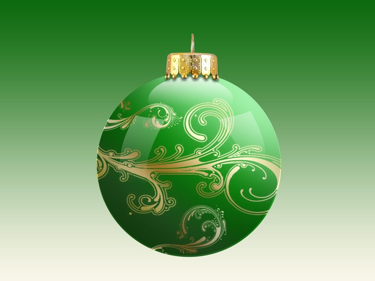 ornament green